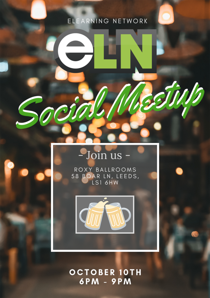 elearning network meeting poster